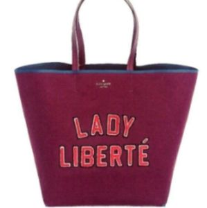 Kate Spade Dashing Lady Liberté Tote Bag